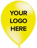 Yellow Personalised Balloons