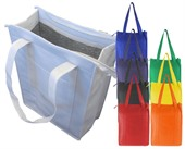 Zip Top Non Woven Cooler Bag